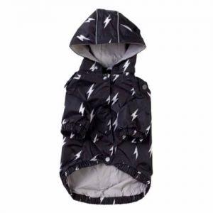FuzzYard BOLT dežni plašč s kapuco